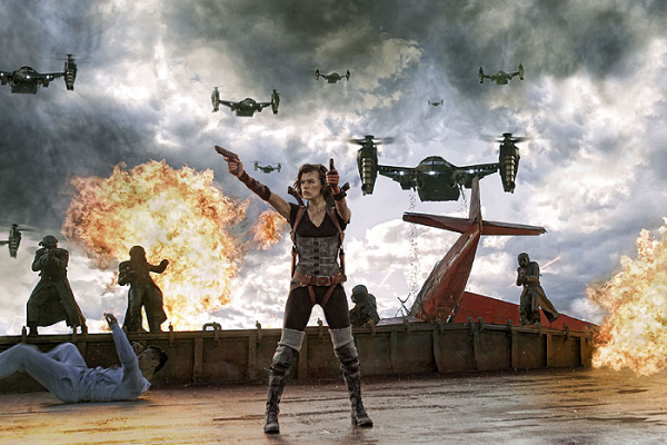 Resident Evil: Odveta (movie) / Resident Evil: Retribution (2012)