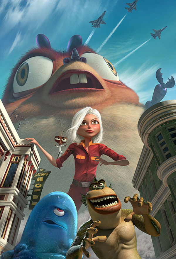 Monstra vs. Vetřelci cz HD (movie) / Monsters vs. Aliens (2009)