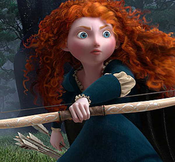 Rebelka HD (movie) / Brave (2012)