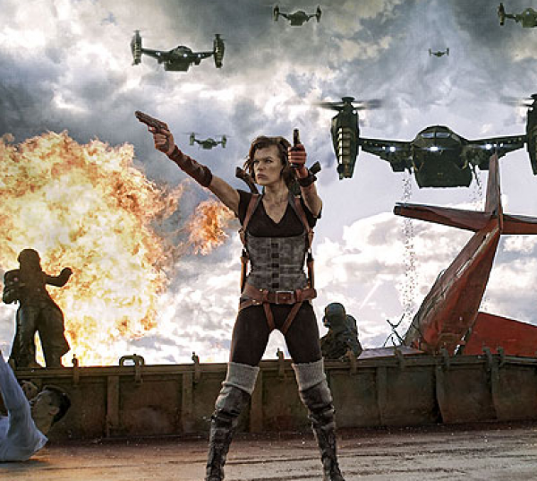 Resident Evil: Odveta HD (movie) / Resident Evil: Retribution (2012)