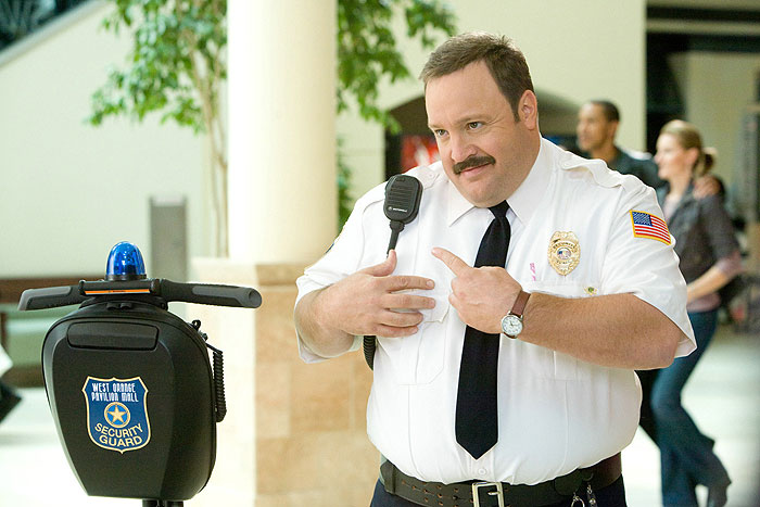 Policajt ze sámošky SD (movie) / Paul Blart: Mall Cop (2009)