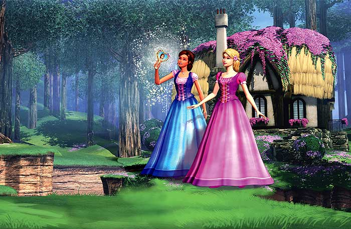 Barbie a Diamantový zámek SD (movie) / Barbie and the Diamond Castle (2008)