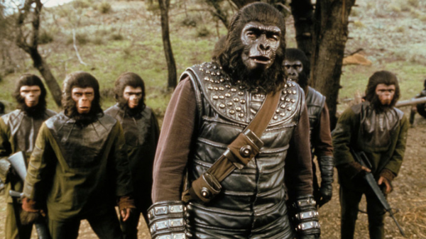 Bitva o Planetu opic SD (movie) / Battle for the Planet of the Apes (1973)