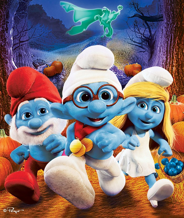 Šmoulové - Strašidelný speciál SD (movie) / The Smurfs: The Legend of Smurfy Hollow (0)